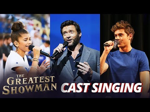 The Greatest Showman Cast REAL Singing Voice - Funny Actors