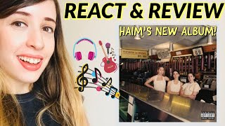 HAIM - Women in Music Pt. III | ALBUM REVIEW & REACTION