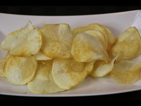 Homemade Potato Chips | How to Make Potato Chips | Make Your Own Potato Chips