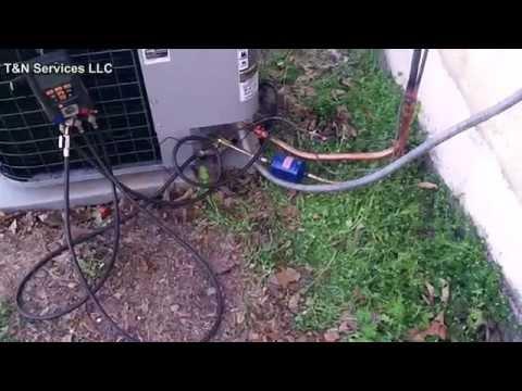 2.5 Ton  Day & Night Heat Pump Install
