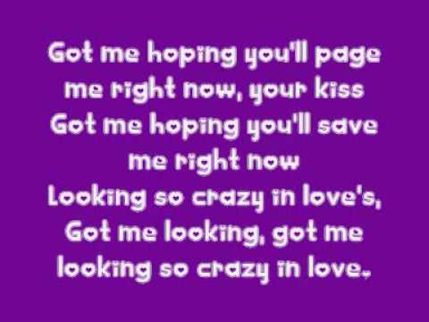 Crazy In Love - Beyonce Knowles feat Jay-Z [LYRICS]
