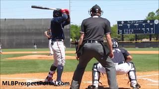Ronald Acuna Jr. - Atlanta Braves prospect (OF) - Full RAW Video