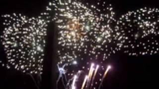 Nieuwjaarskaarten, Prachtige vuurwerk voor het nieuwe jaar