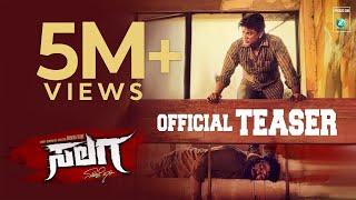 """SALAGA""  Official Teaser | ""SALAGA"" Kannada Movie | Duniya Vijay | Sanjana Anand | Dhananjaya"