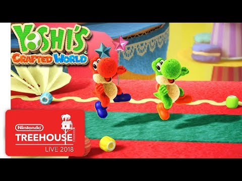 Yoshi's Crafted World - Gameplay - Nintendo Treehouse: Live thumbnail