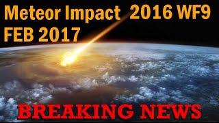 Possible Massive Meteor Impact FEB 2017