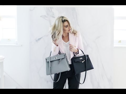 HERMES KELLY 32 Vs KELLY 28 | HOW TO DRESS YOUR HERMES BAG | IAM CHOUQUETTE