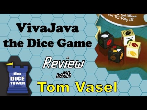 Dice Tower Reviews: VivaJava: the Dice Game