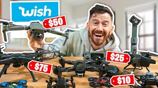I Bought All The DRONES On Wish!!