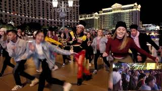 Neil And Cherie's Proposal Flash Mob In Vegas!