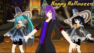 MMD -  Happy Happy Halloween Fusion
