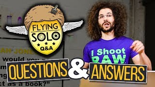 CANON Lenses On SONY? How Do You Get Candid Portraits? Flying Solo Q&A