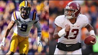 #1 Alabama vs. #3 LSU Full Game Highlights | CFB 2018