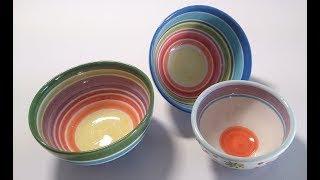 79. How To Make Ceramic Bowl -slab Method-step By Step-extended Version