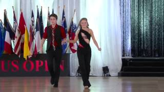 Shut Up and Dance - Walk the Moon Dance Cover (USA Swing Dance Competition 1st Place)