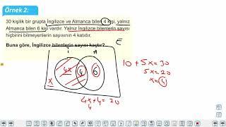 Eğitim Vadisi TYT Matematik 37.Föy Kümeler (Küme Problemleri) Konu Anlatım Videoları