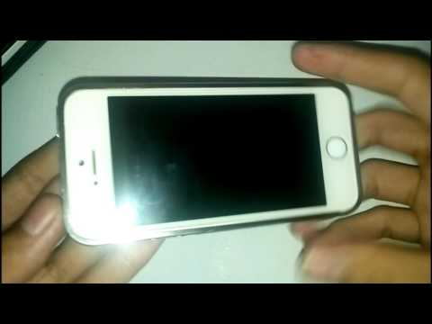 Video Solusi Iphone 5 Tiba-tiba Matot 100% work..!!