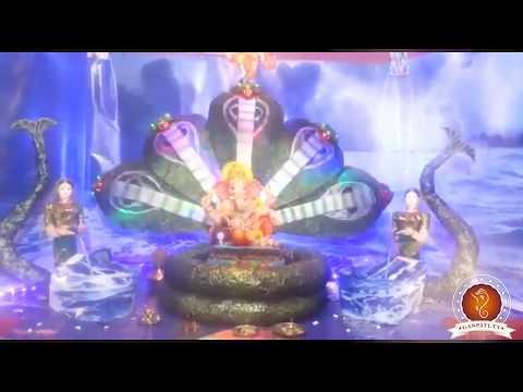 Amol Bhande Home Ganpati Decoration Video