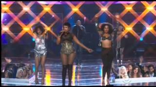 Jennifer Hudson Latrice Royale Mighty Real Fashion Rocks 2014