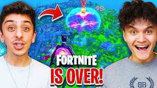FaZe Clan Reacts to THE END of Fortnite (Goodbye)