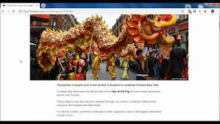 BBC NEWS; Chinese New Year; ОБЗОР на РУССКОМ