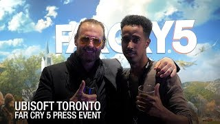 Far Cry 5 Launch Party at Ubisoft Toronto