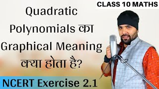 NCERT Exercise 2.1 Polynomials Class 10 in Hindi UP Board