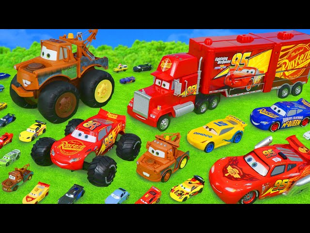 Cars Toys Surprise: Lightning McQueen, Mack Truck & Toy Vehicles Play for Kids