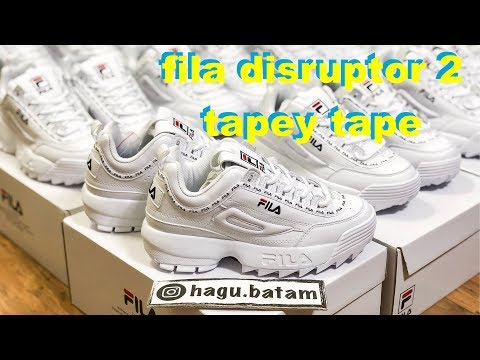 FILA DISRUPTOR 2 NEW TAPEY TAPE INDONESIA REVIEW
