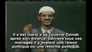 Pourquoi le prophete Mohammad avait 11 femmes ? /Dr Zakir Naik/KAMUDU13