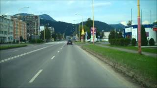 preview picture of video 'Through Ružomberok, Slovakia : Sicily to Ukraine by camper van part 80'