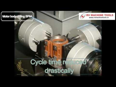 Motor Body Drilling SPM