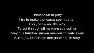 Lady Gaga   Million Reasons Lyrics