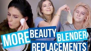 Trying Different Edible Beauty Blenders!?! (Beauty Break)