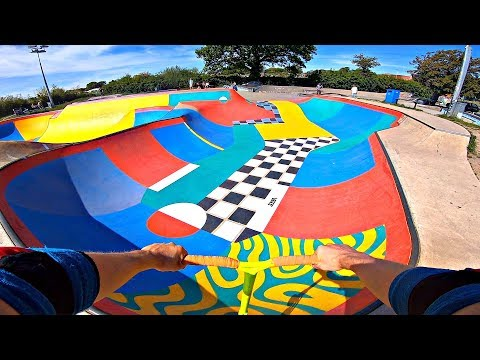 FIRST LOOK at NEW DREAMLAND SKATEPARK😍🌈‼️