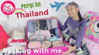 Persiapan Nayfa Pergi Ke Thailand - Packing Pakaian dan Perlengkapan Kompetisi Ice Skating