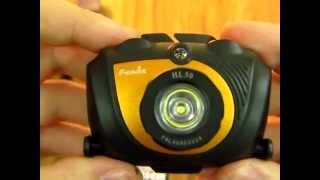 Fenix HL30 - відео 1