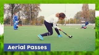 Aerial / Overhead Pass tutorial - Field Hockey Technique | HockeyheroesTV