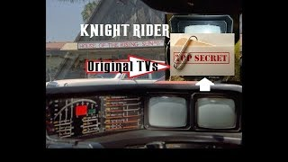 What was the Original Tv used in KNIGHT RIDER