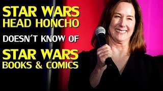 Kathleen Kennedy disses George Lucas, demonstrates zero knowledge of Star Wars