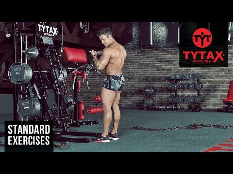 Standing Cable Curl (Stirrups) | TYTAX® M2