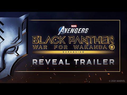 Marvel's Avengers : Trailer de Black Panther