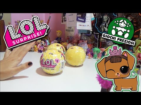 LOL PETS ONLY - Blind Bag WeekEnd ! - Sono Finalmente Arrivate in Italia!