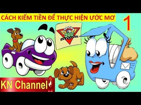 CÁCH KIẾM TIỀN ĐỂ THỰC HIỆN ƯỚC MƠ TRONG THẾ GIỚI XE ĐUA TẬP 1 | Trò chơi KN Channel giáo dục trẻ em
