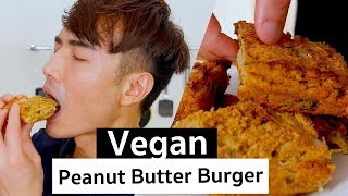 Asian Style Peanut Butter Vegan Burger | PicniclyNOW - Video Youtube