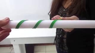 Aprenda como fazer um balão em espiral.