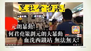 中國民心香港民心20190722 (突發)逃犯條例.元朗白衣人才是真正暴徒,警方如果不想保護市民可以調職,免得浪費納稅人的錢,何君堯正人渣,又要威又唔敢認