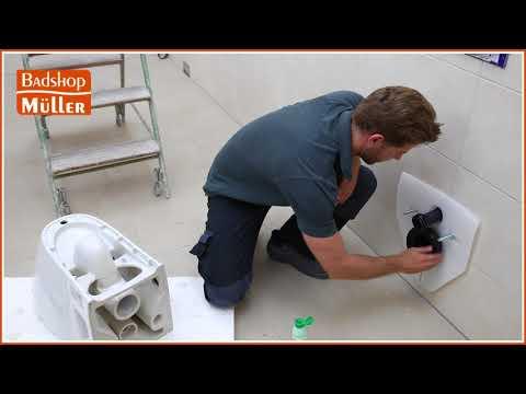 Wie montiere ich ein WC? (Komplettanleitung)