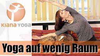 10 Min Yoga Workout auf wenig Raum/ Stretching& Entspannung ohne Matte im Hotel, auf Reisen, im Büro