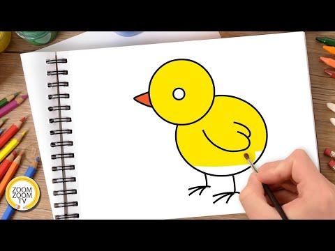 HĐ TẠO HÌNH: Vẽ con gà